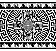 Greek pattern Photographic Print