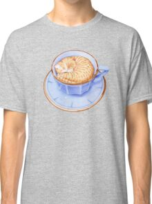 Cat in Coffee T-shirt Classic T-Shirt