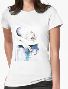 Fading Memories Womens Fitted T-Shirt