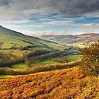 Lose Hill & Edale Valley, Peak District by Steve  Liptrot