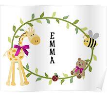 Emma - Nursery Names Poster