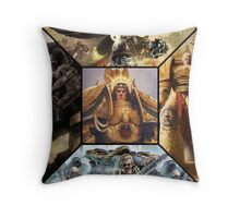 Space marine primarchs Throw Pillow