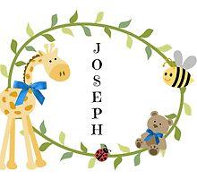 Joseph - Nursery Names  by mezzilicious