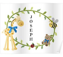 Joseph - Nursery Names  Poster