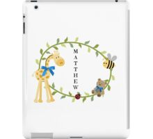 Matthew - Nursery Names iPad Case/Skin