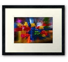 Children's Play Framed Print