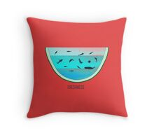 Water Melon Throw Pillow