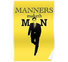 Manners Maketh Man Poster