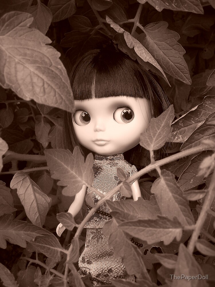 Hiding by ThePaperDoll