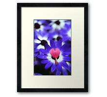 Your Heart Stand Out to Me Framed Print