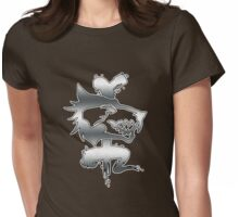 Forsaken Tribe: Bone Shadows Womens Fitted T-Shirt