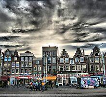 Nieuwmarkt by Roddy Atkinson