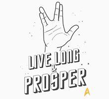 Live Long and Prosper - Leonard Nimoy - Star Trek - White Shirt Unisex T-Shirt