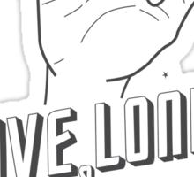 Live Long and Prosper - Leonard Nimoy - Star Trek - White Shirt Sticker
