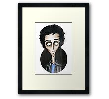 Billie Joe Armstrong-Green Day Framed Print