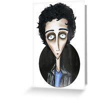 Billie Joe Armstrong-Green Day Greeting Card