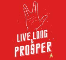 Live Long and Prosper - Leonard Nimoy - Star Trek - in Colours Baby Tee