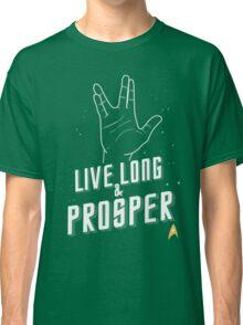 Live Long and Prosper - Leonard Nimoy - Star Trek - in Colours Classic T-Shirt