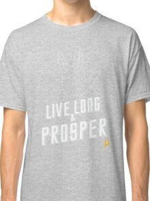 Live Long and Prosper - Leonard Nimoy - Star Trek - in Colours Classic T-Shirt
