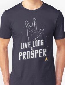 Live Long and Prosper - Leonard Nimoy - Star Trek - in Colours Unisex T-Shirt
