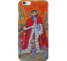 "Illustration - ""Zinaida e la scacchiera di cristallo"" iPhone Case/Skin"