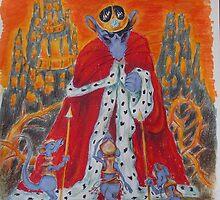"""Illustration - """"Zinaida e la scacchiera di cristallo"""" by Francesca Romana Brogani"""