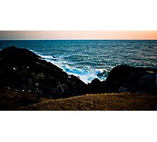 Ocean Clash Photographic Print