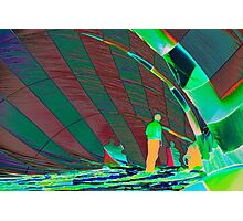 Heat Signature in a Hot Air Balloon Photographic Print