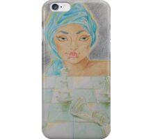 """Illustration 2 - """"Zinaida e la scacchiera di cristallo"""" iPhone Case/Skin"""