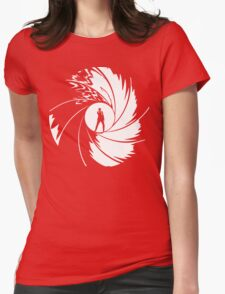 50th Anniversary - BOND - Red or Black Womens Fitted T-Shirt