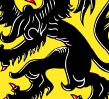 Flag of Flanders Sticker