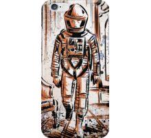 2001 A Space Odyssey Art Stanley Kubrick film movie director sci fi science fiction drawing illustration joe badon stars Christmas iPhone Case/Skin