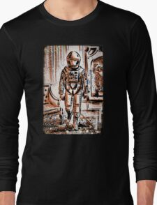 2001 A Space Odyssey Art Stanley Kubrick film movie director sci fi science fiction drawing illustration joe badon stars Christmas Long Sleeve T-Shirt