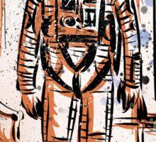 2001 A Space Odyssey Art Stanley Kubrick film movie director sci fi science fiction drawing illustration joe badon stars Christmas Sticker