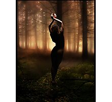 Prisoner Of The Forest Photographic Print