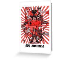 smash bros. RED Greeting Card
