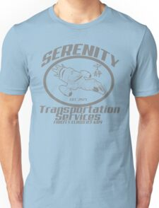 Serenity transportation services Unisex T-Shirt