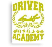 Driver academy Canvas Print
