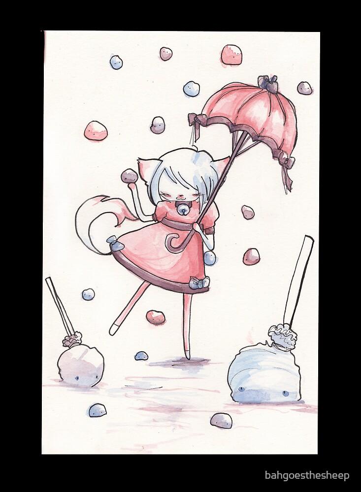 Gum Drops Falling by bahgoesthesheep