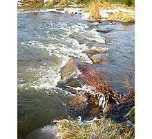 A Winter Stream..... Photographic Print