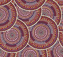 Endless mandala by Richard Laschon