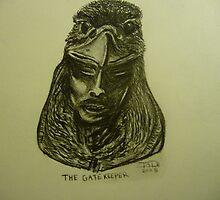 The Gate Keeper by Trevor Peake