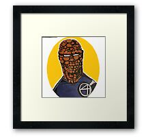The Thing from Fantastic 4 Framed Print
