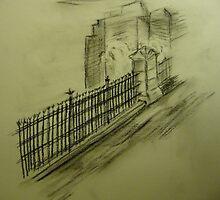 Iron Fence by Trevor Peake