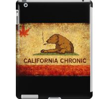 CALIFORNIA CHRONIC - Vintage iPad Case/Skin