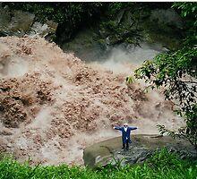 A Ferocous River, Below Machu Pichu, Peru. by jtree
