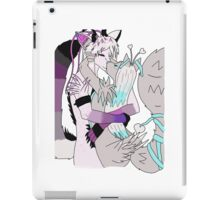 Furry Kiss iPad Case/Skin