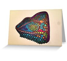 Chameleon Colors Greeting Card