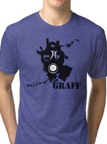GRAFF MASK Tri-blend T-Shirt