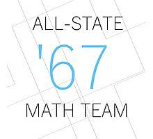 All-State Math Team Photographic Print